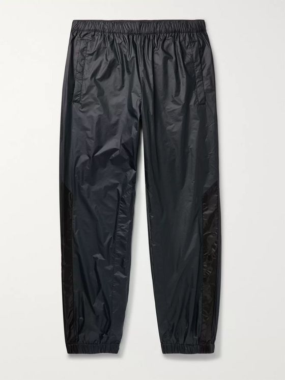 Acne Studios Pegasus Tapered Striped Nylon-Ripstop Track Pants