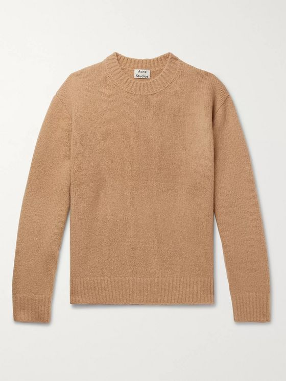 Acne Studios Kael Oversized Wool-Blend Bouclé Sweater