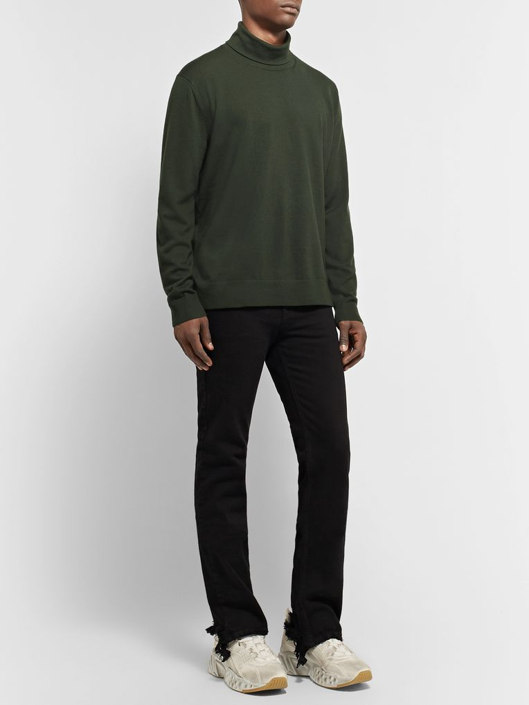 Acne Studios Stretch Wool-Blend Rollneck Sweater