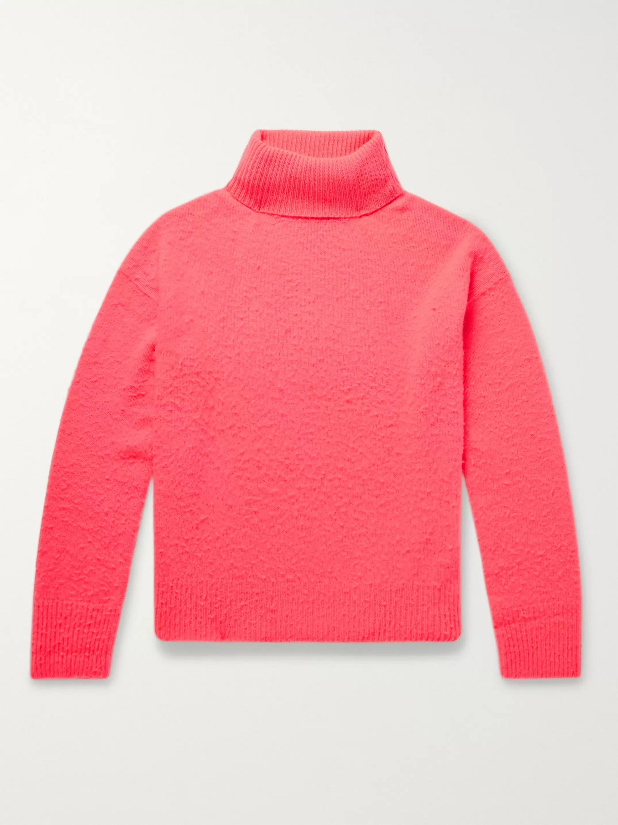 Acne Studios Nyran Brushed Wool and Cashmere-Blend Rollneck Sweater