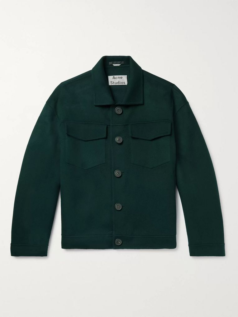 Acne Studios Wool Blouson Jacket