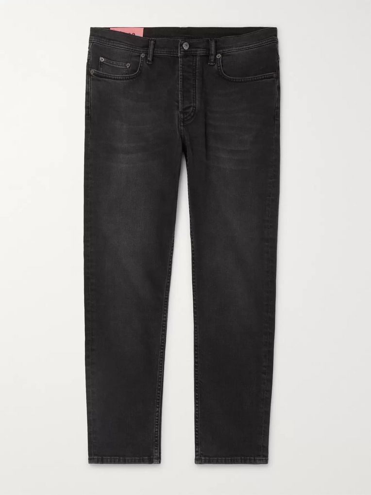 Acne Studios River Cropped Slim-Fit Denim Jeans