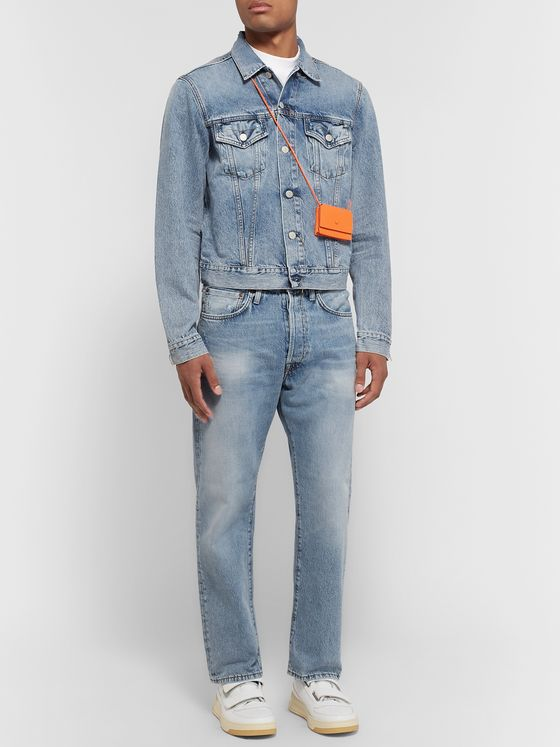 Acne Studios Distressed Denim Jeans