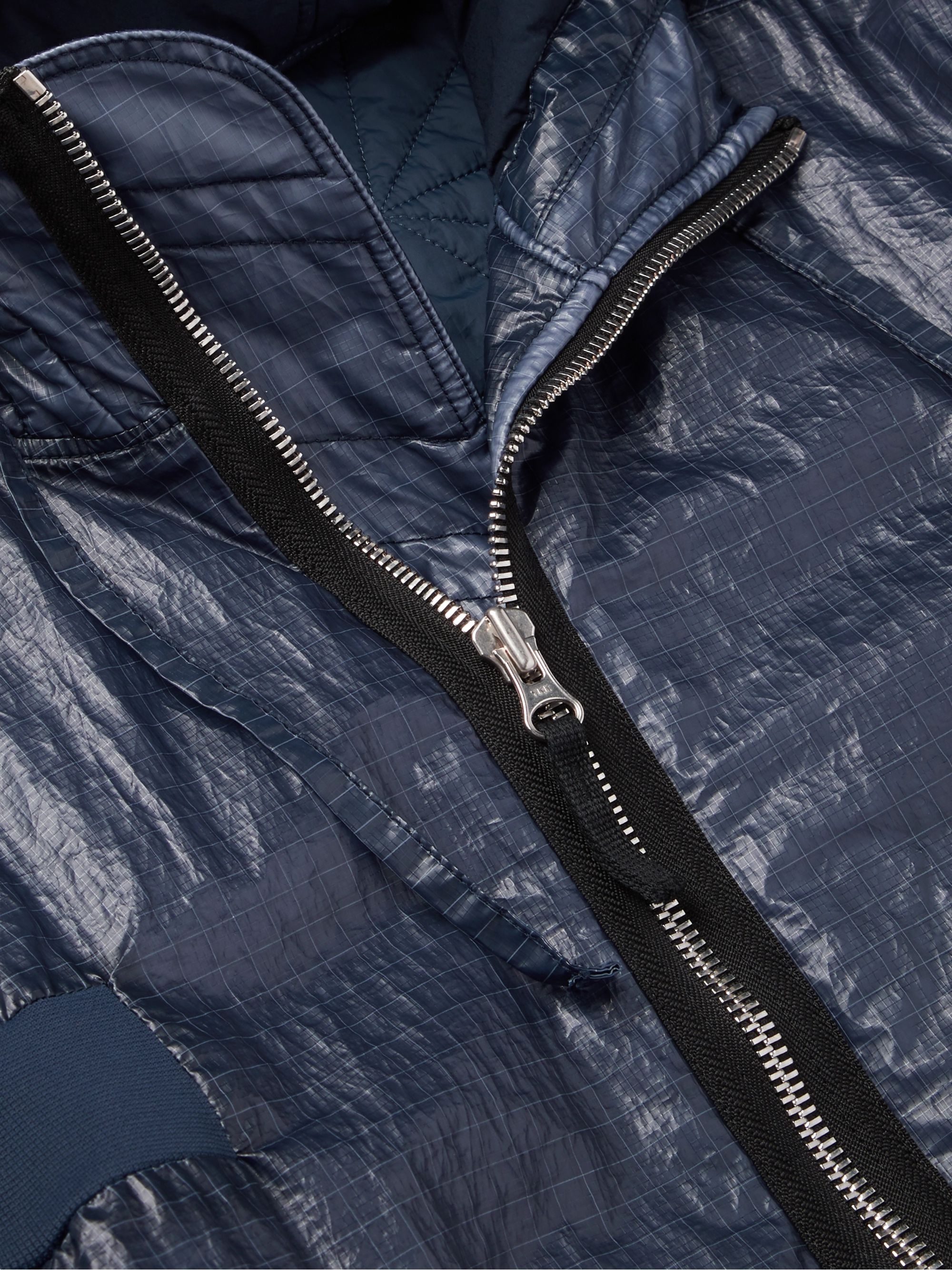 Stone Island Shadow Project Waxed Ripstop Hooded Parka