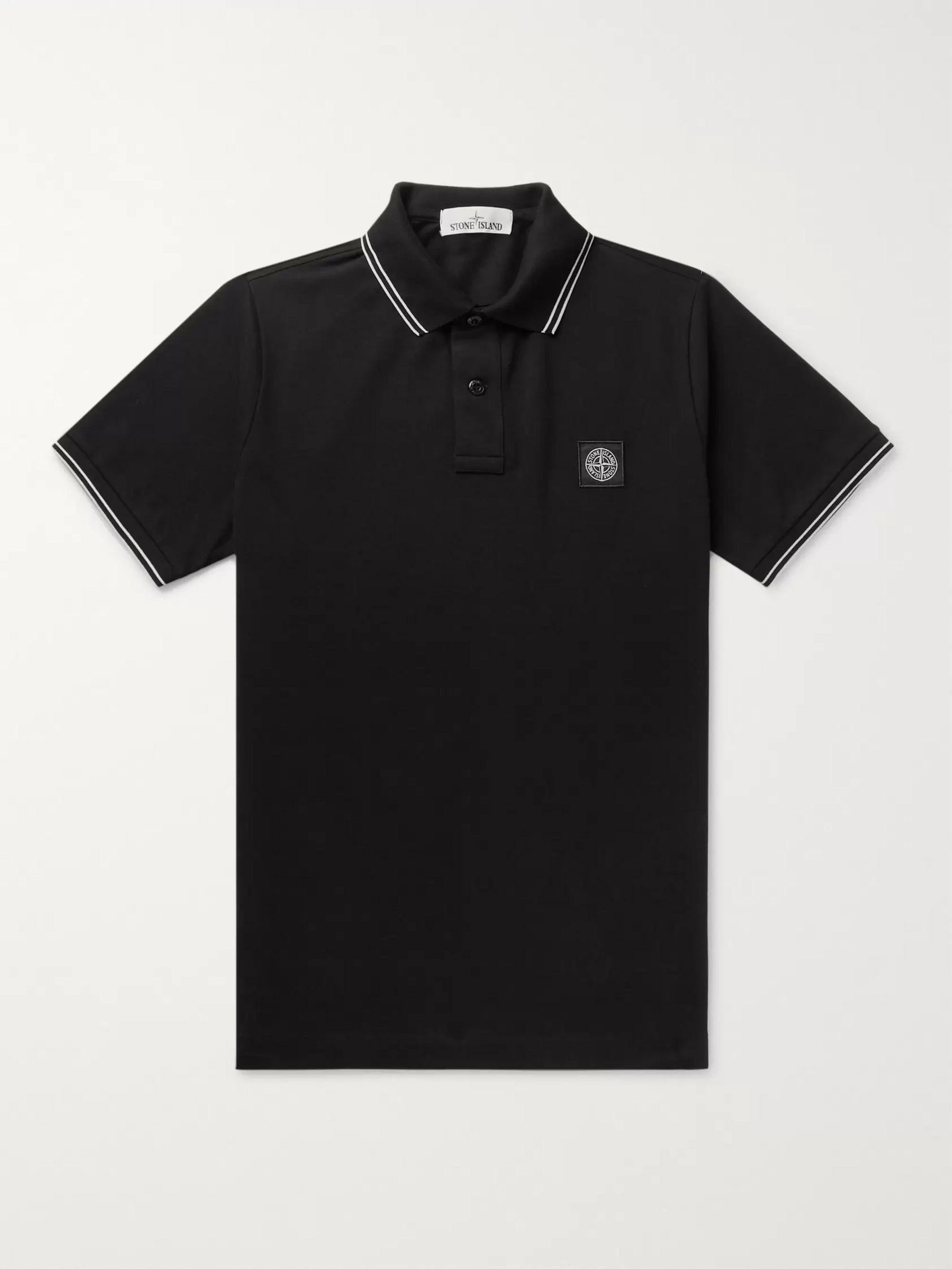 Slim Fit Contrast Tipped Stretch Cotton Piqué Polo Shirt by Mr Porter