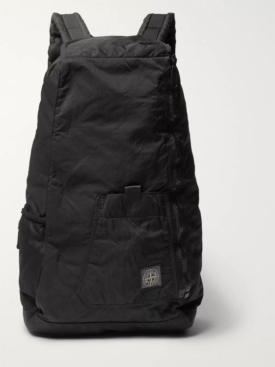 Stone Island Garment-Dyed Shell Backpack