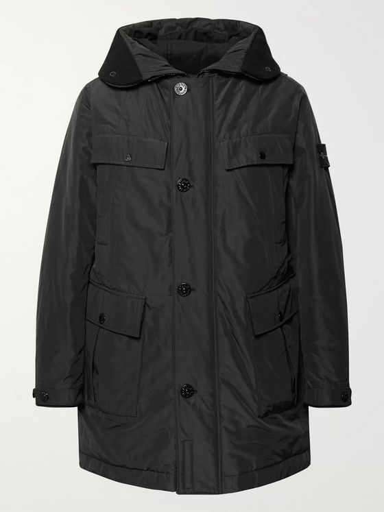 Stone Island Micro Reps Shell PrimaLoft Hooded Parka