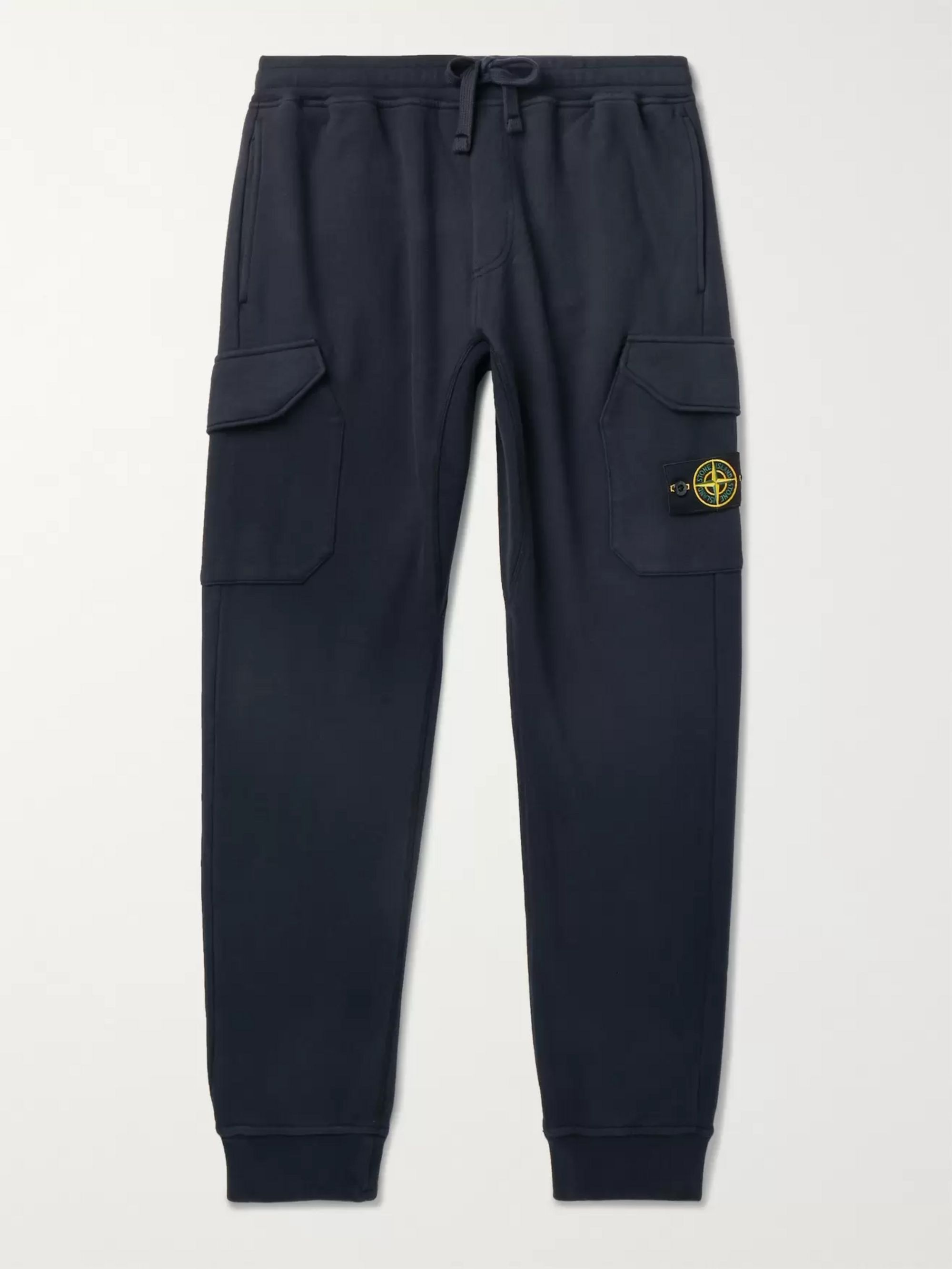 pretty nice c6e6c 71c6b Tapered Logo-Appliquéd Fleece-Back Cotton-Jersey Sweatpants