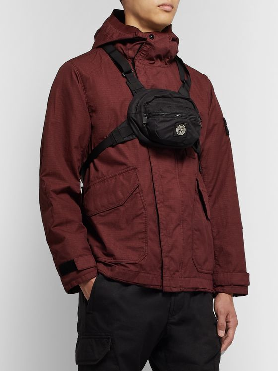 Stone Island Ripstop Harness Bag