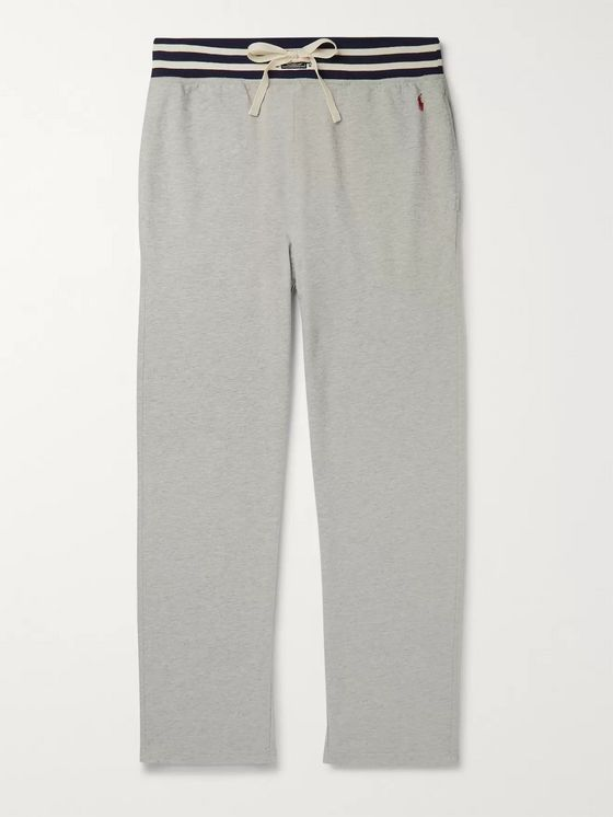 Polo Ralph Lauren Striped Loopback Cotton-Blend Jersey Pyjama Trousers