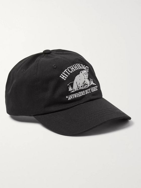 Reese Cooper® Embroidered Cotton-Twill Baseball Cap