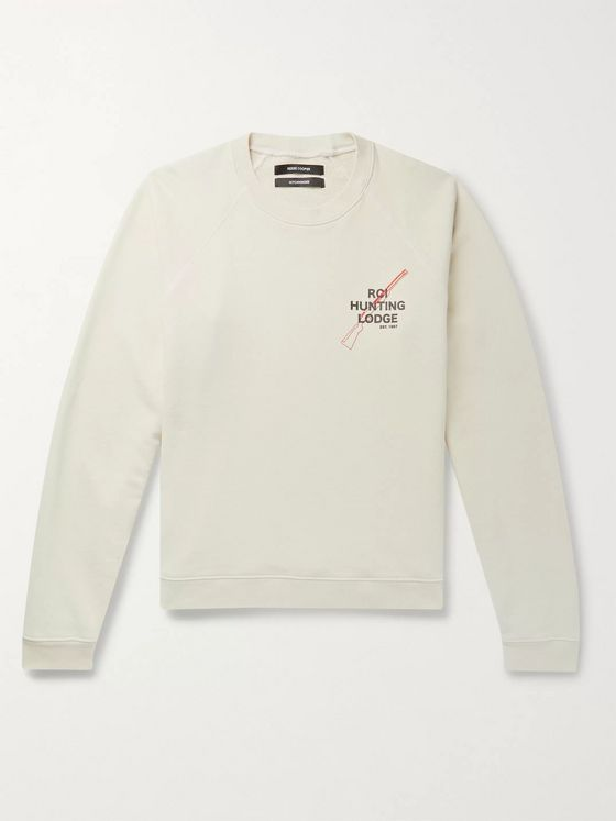 Reese Cooper® Printed Loopback Cotton-Jersey Sweatshirt