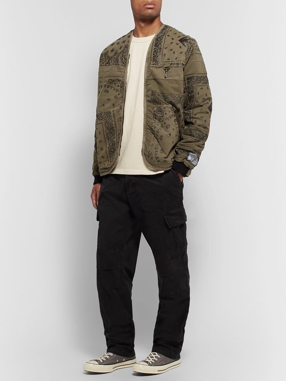 Reese Cooper® Faded Bandana-Print Cotton Jacket
