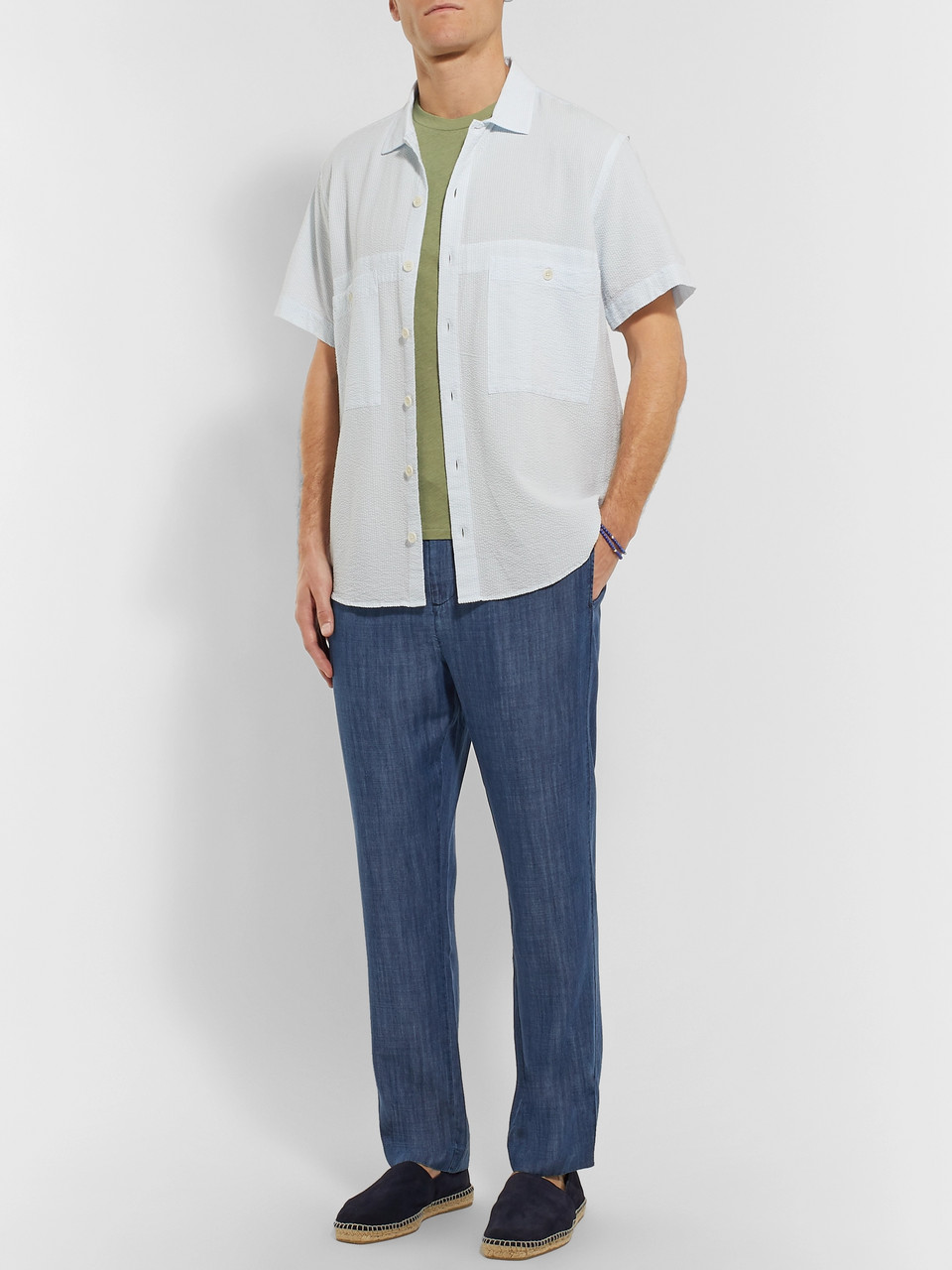 Frescobol Carioca Sandro Tapered Tencel Drawstring Trousers