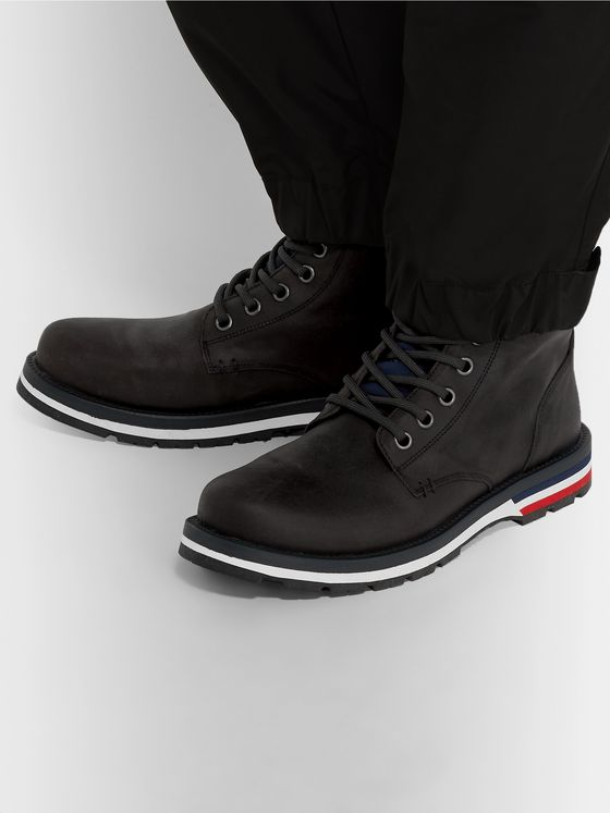 Moncler New Vancouver Suede Boots