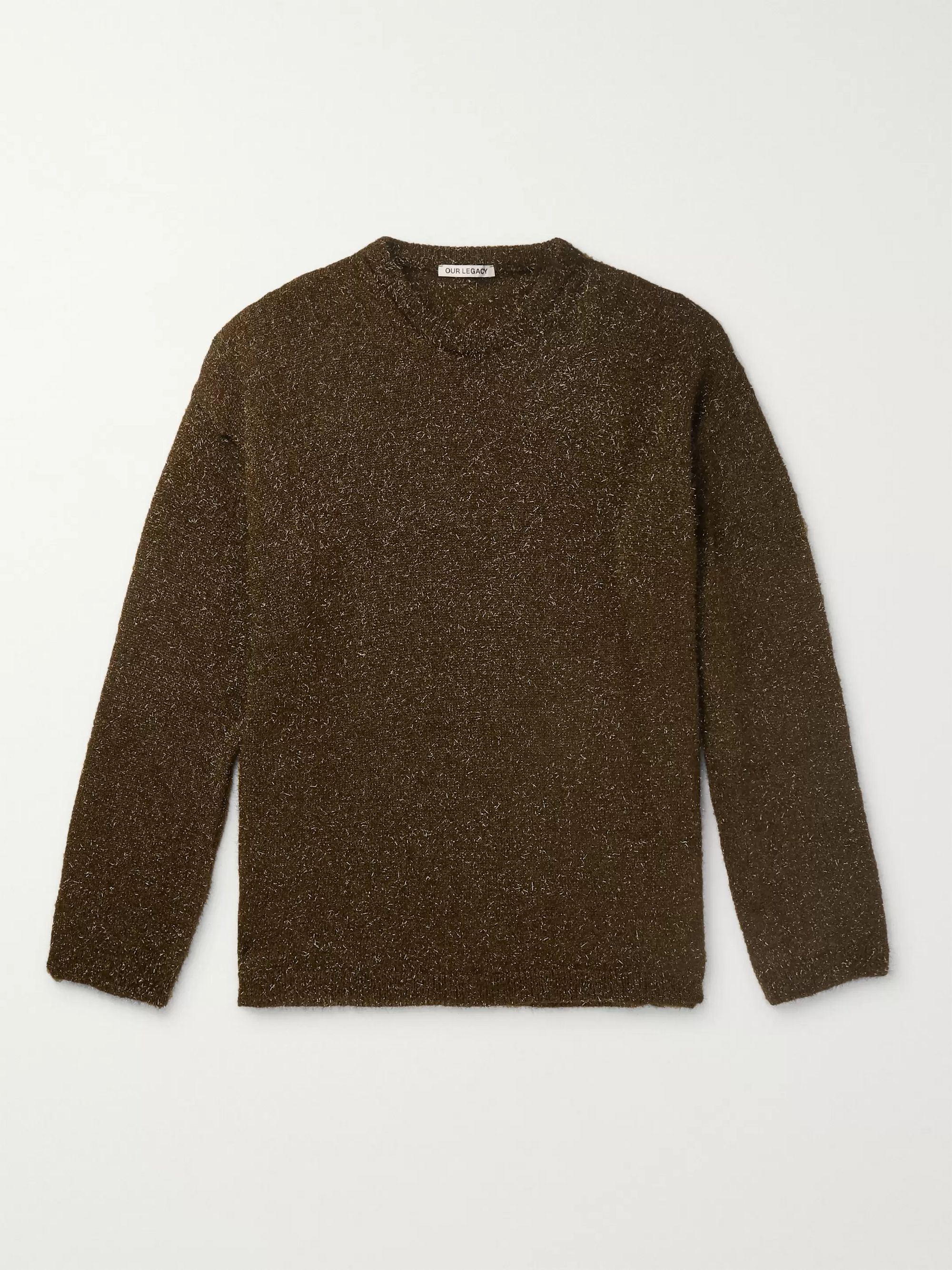 sonar-metallic-knitted-sweater by our-legacy