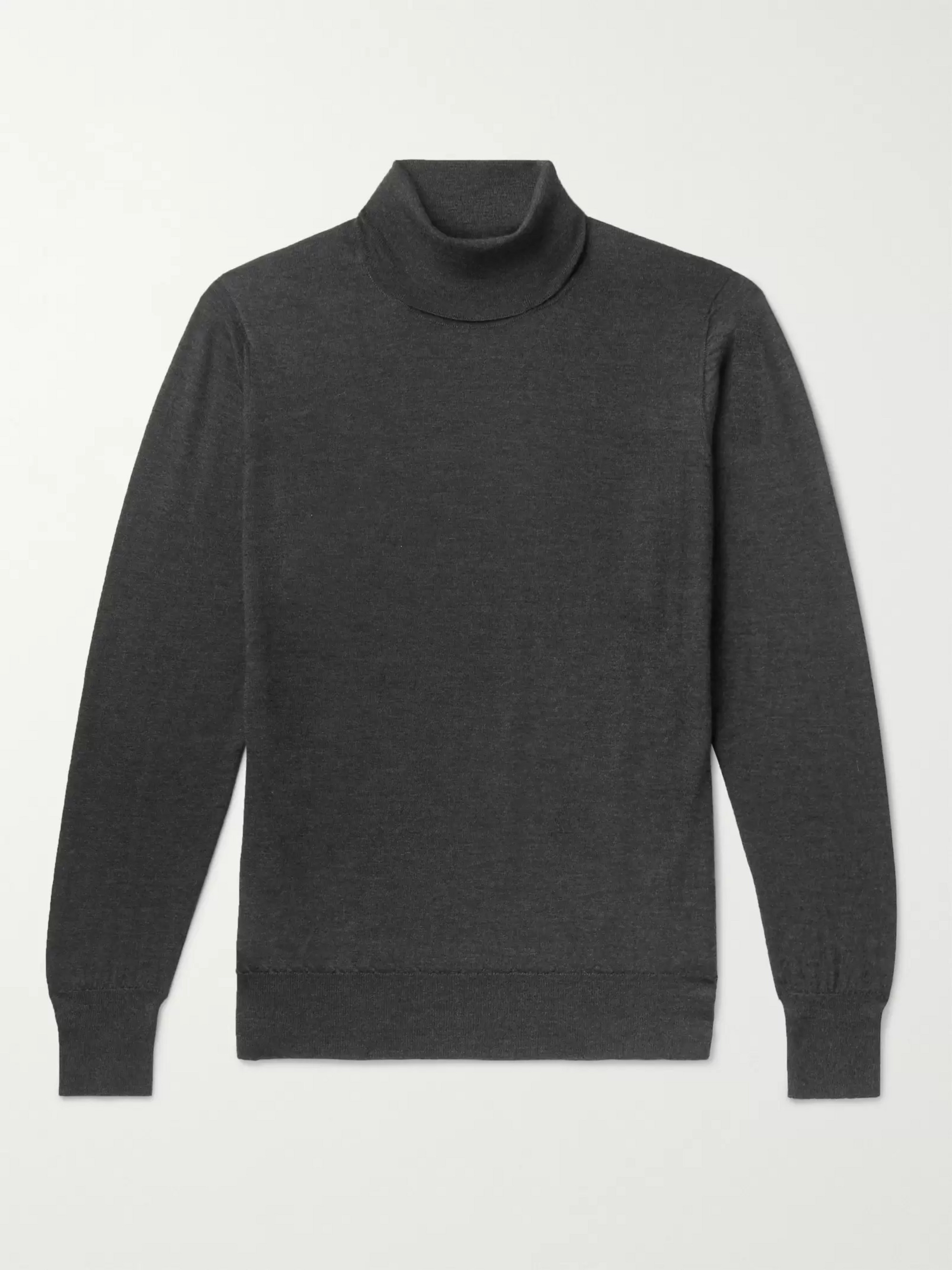 William Lockie Cashmere Rollneck Sweater