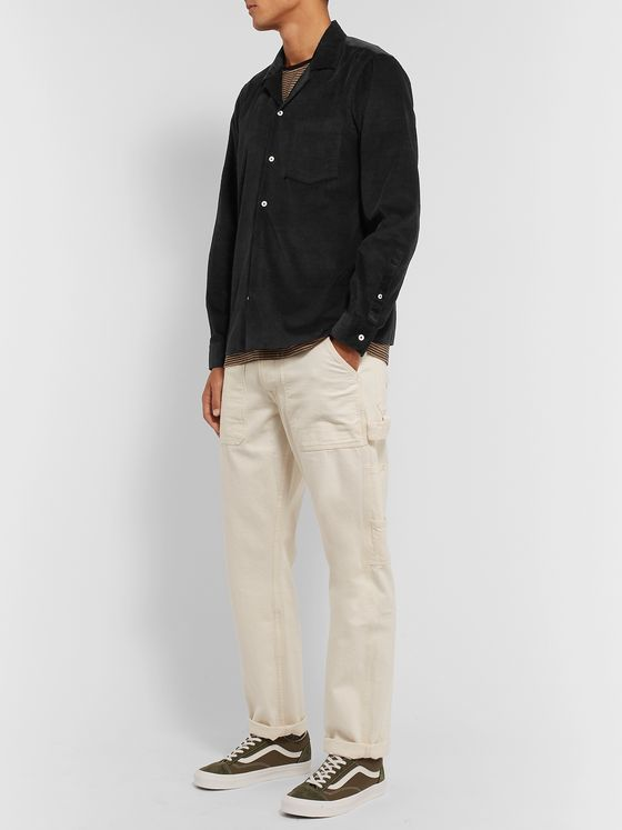 President's Camp-Collar Cotton-Corduroy Overshirt