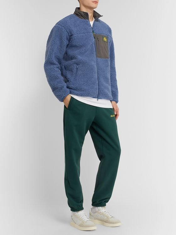 Aimé Leon Dore Shell-Trimmed Fleece Jacket
