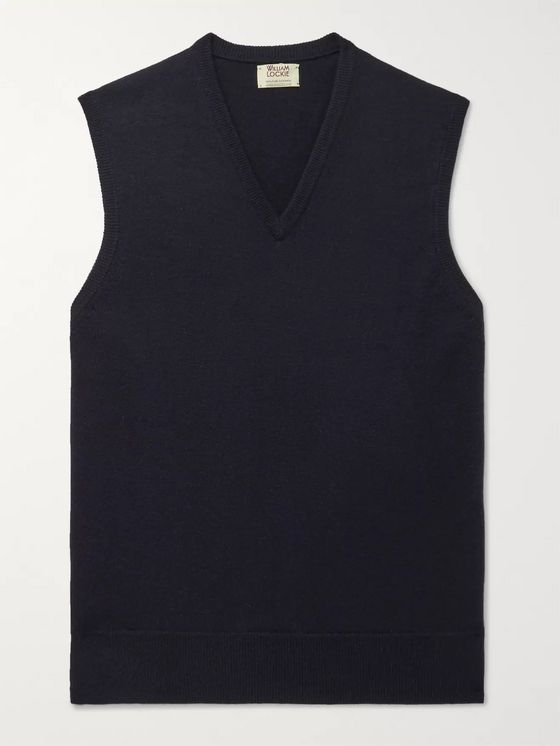 William Lockie Cashmere Sweater Vest