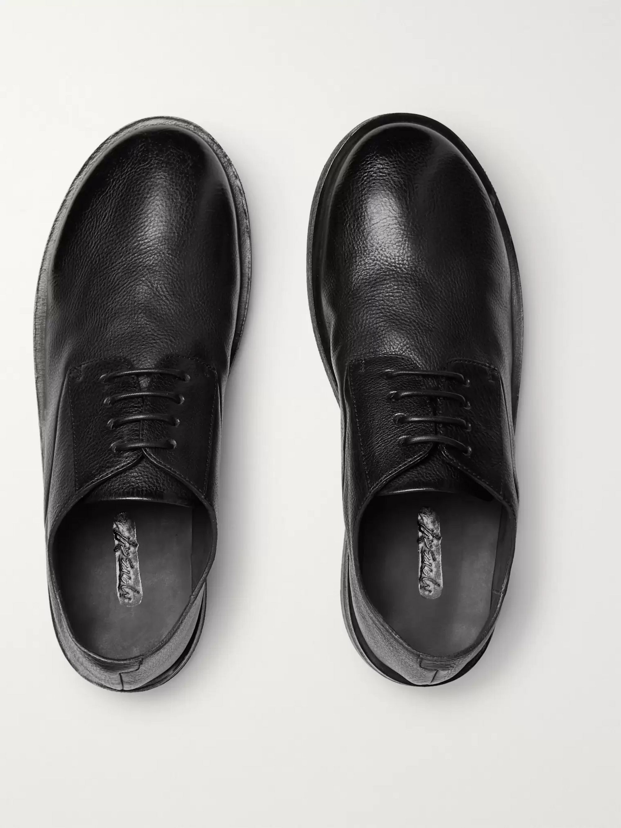 Marsell Full-Grain Leather Derby Shoes