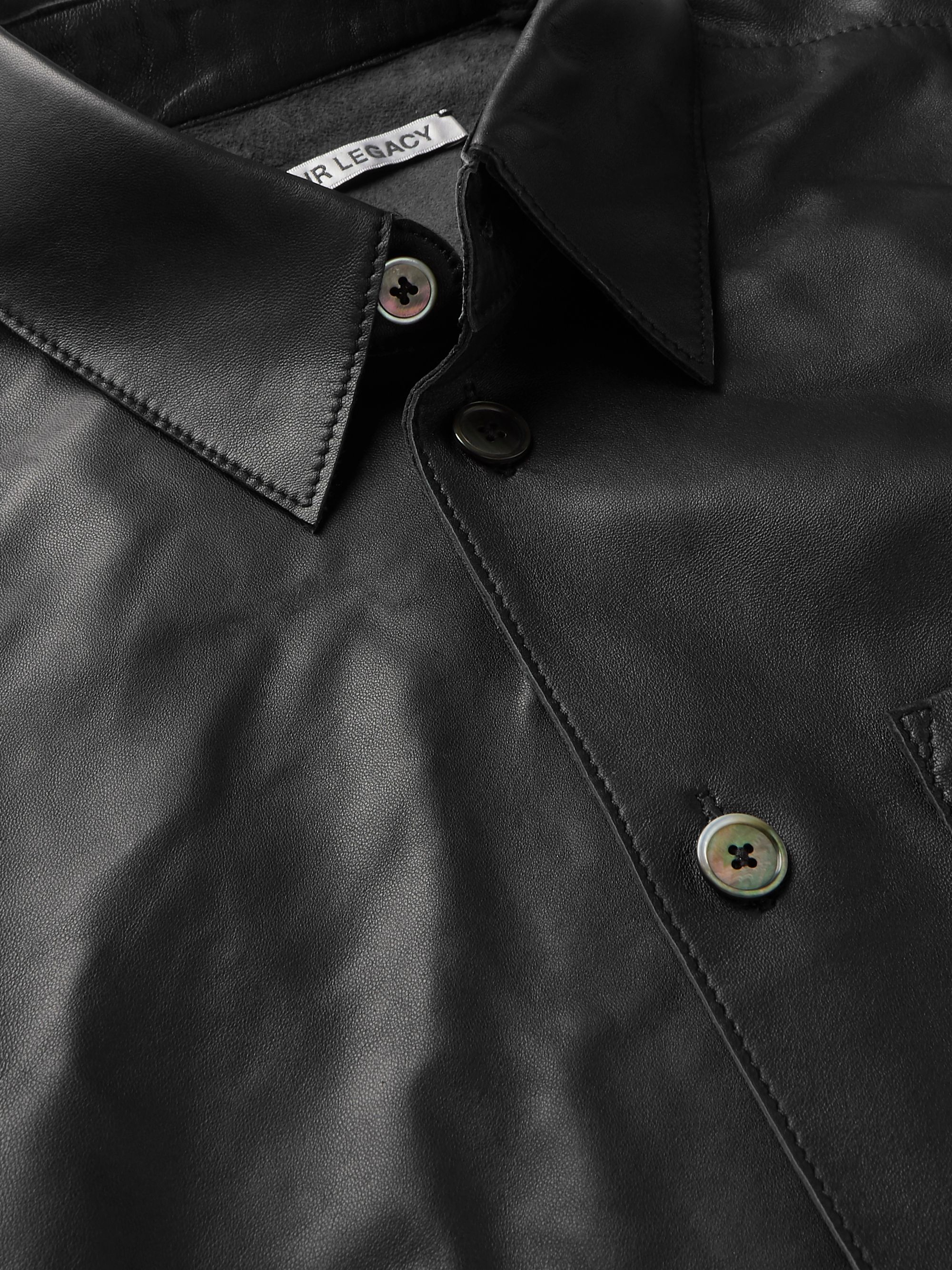 Our Legacy Leather Shirt