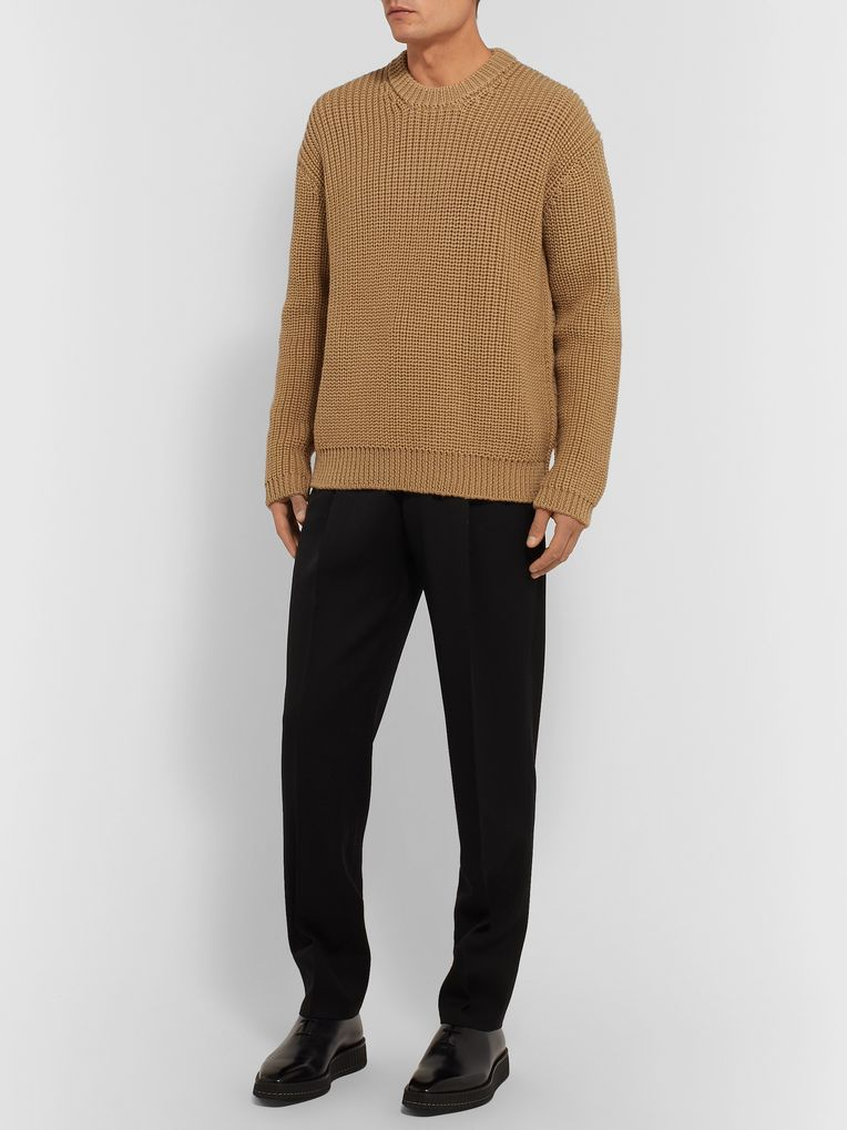 Bottega Veneta Ribbed Wool Sweater