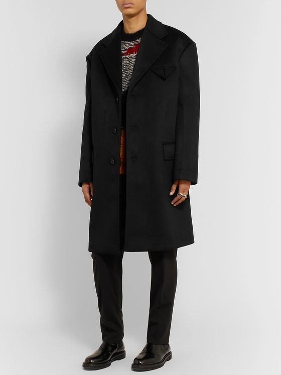 Bottega Veneta Oversized Cashmere Coat