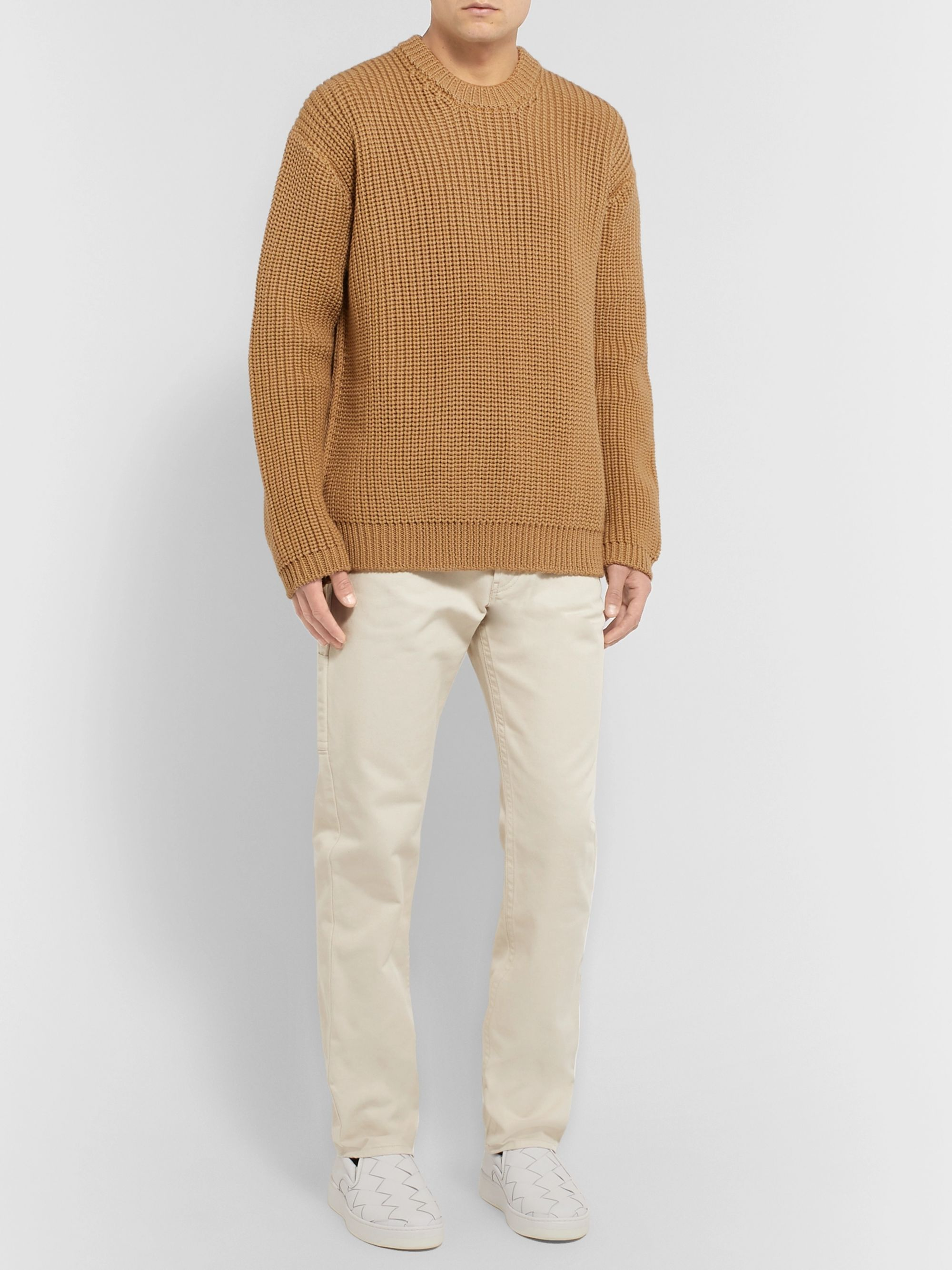 Bottega Veneta Cotton-Twill Trousers