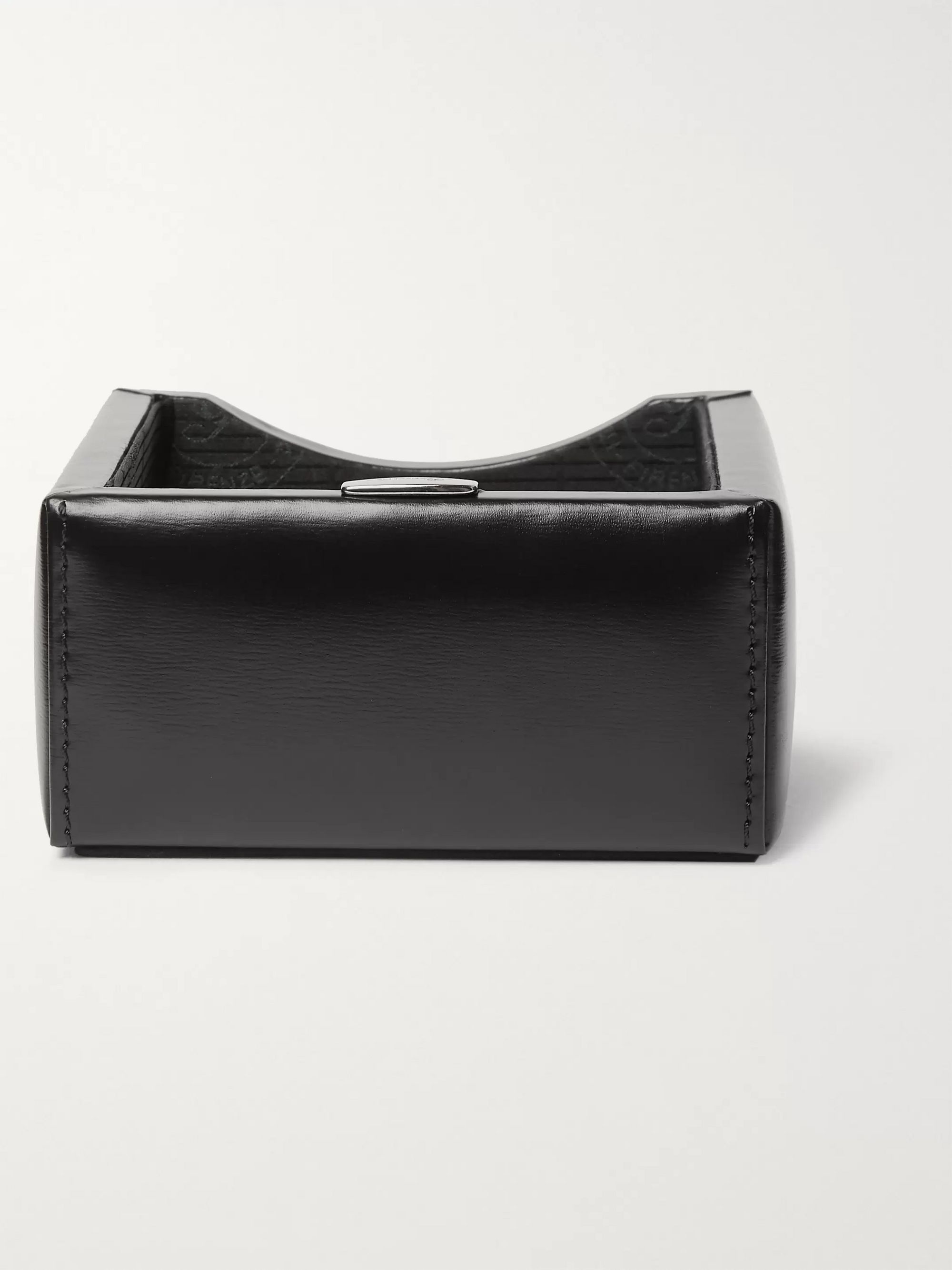 PINEIDER 1949 Leather Business Card Holder