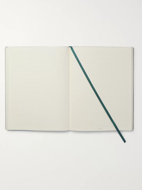 Pineider Milano Leather Notebook