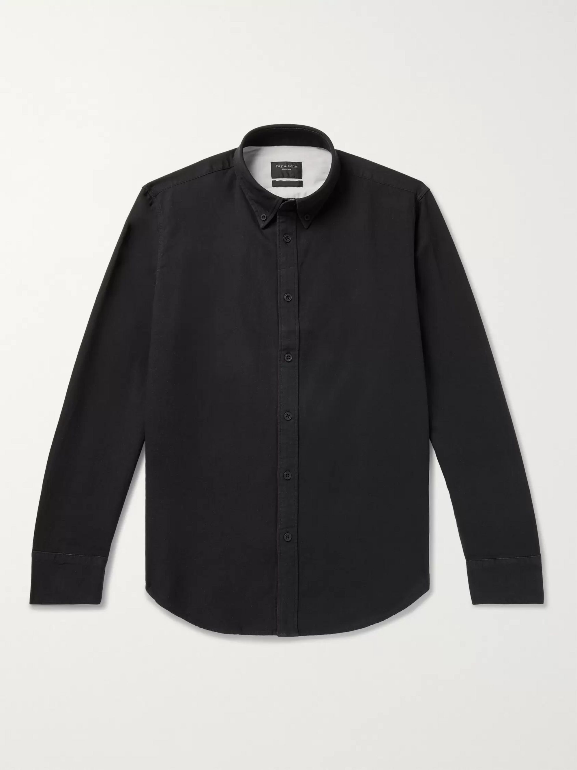 rag & bone Tomlin Slim-Fit Button-Down Collar Cotton Oxford Shirt