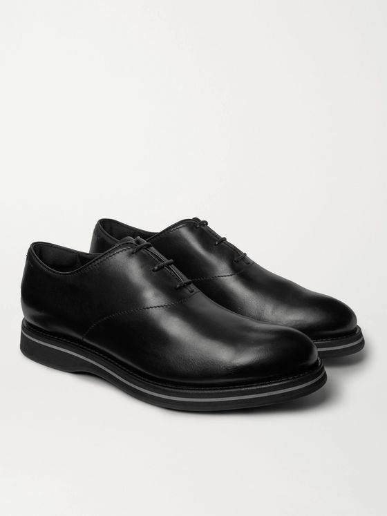Berluti Alessio Leather Oxford Shoes