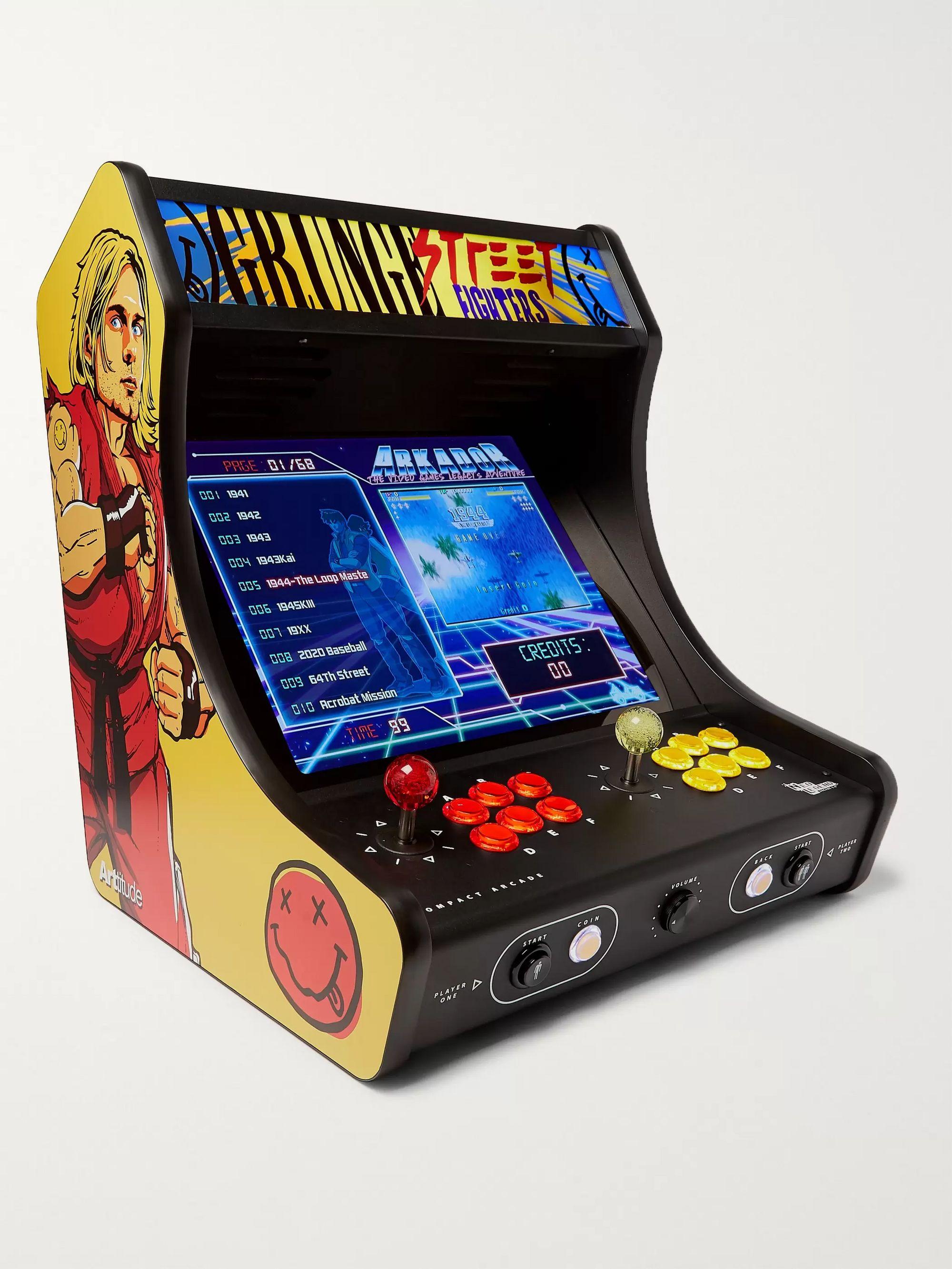 Multi Grunge Street Fighter Compact Arcade Game Neo Legend Mr