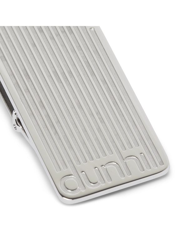 Dunhill Engraved Silver-Tone Money Clip