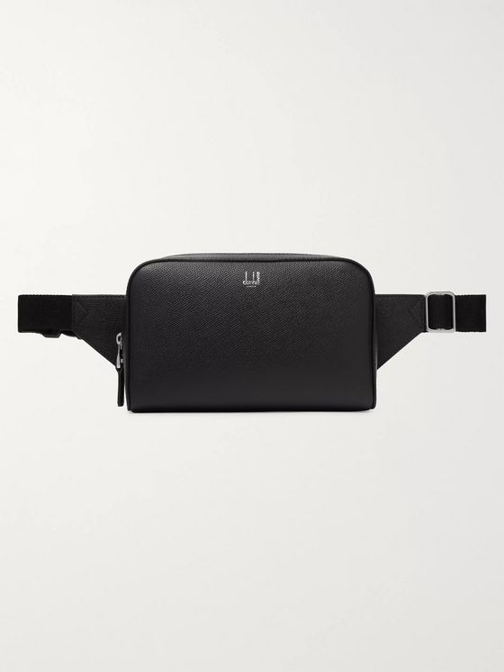 Dunhill Cadogan Full-Grain Leather Belt Bag