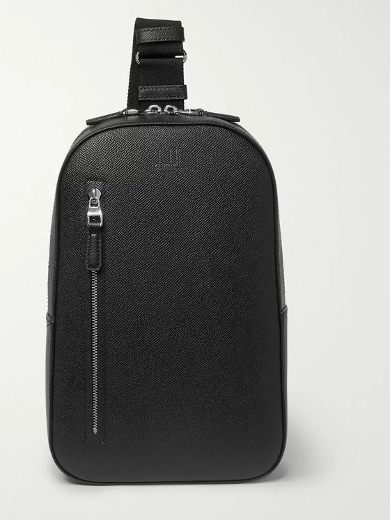 Dunhill Cadogan Full-Grain Leather Backpack