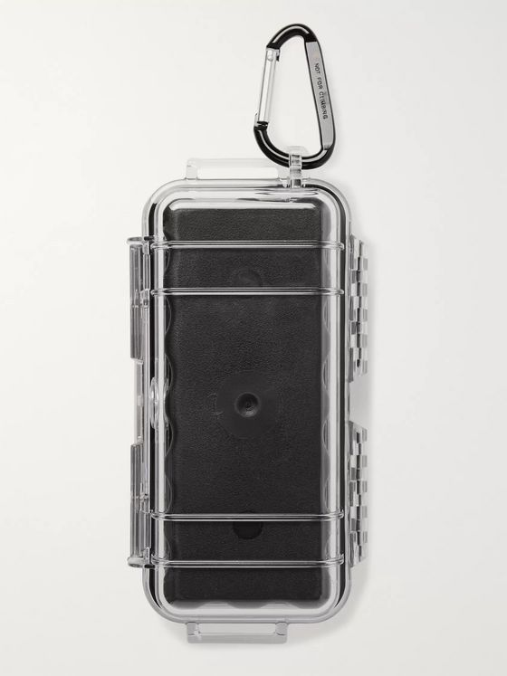 DISTRICT VISION + Reigning Champ Radical Retreat Rubber-Lined Polycarbonate Case