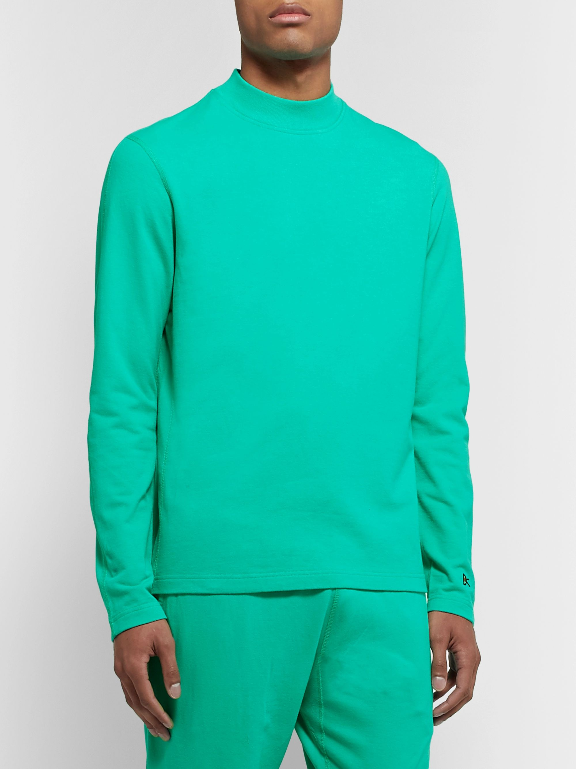 DISTRICT VISION + Reigning Champ Radical Retreat Loopback Cotton-Jersey Sweatshirt