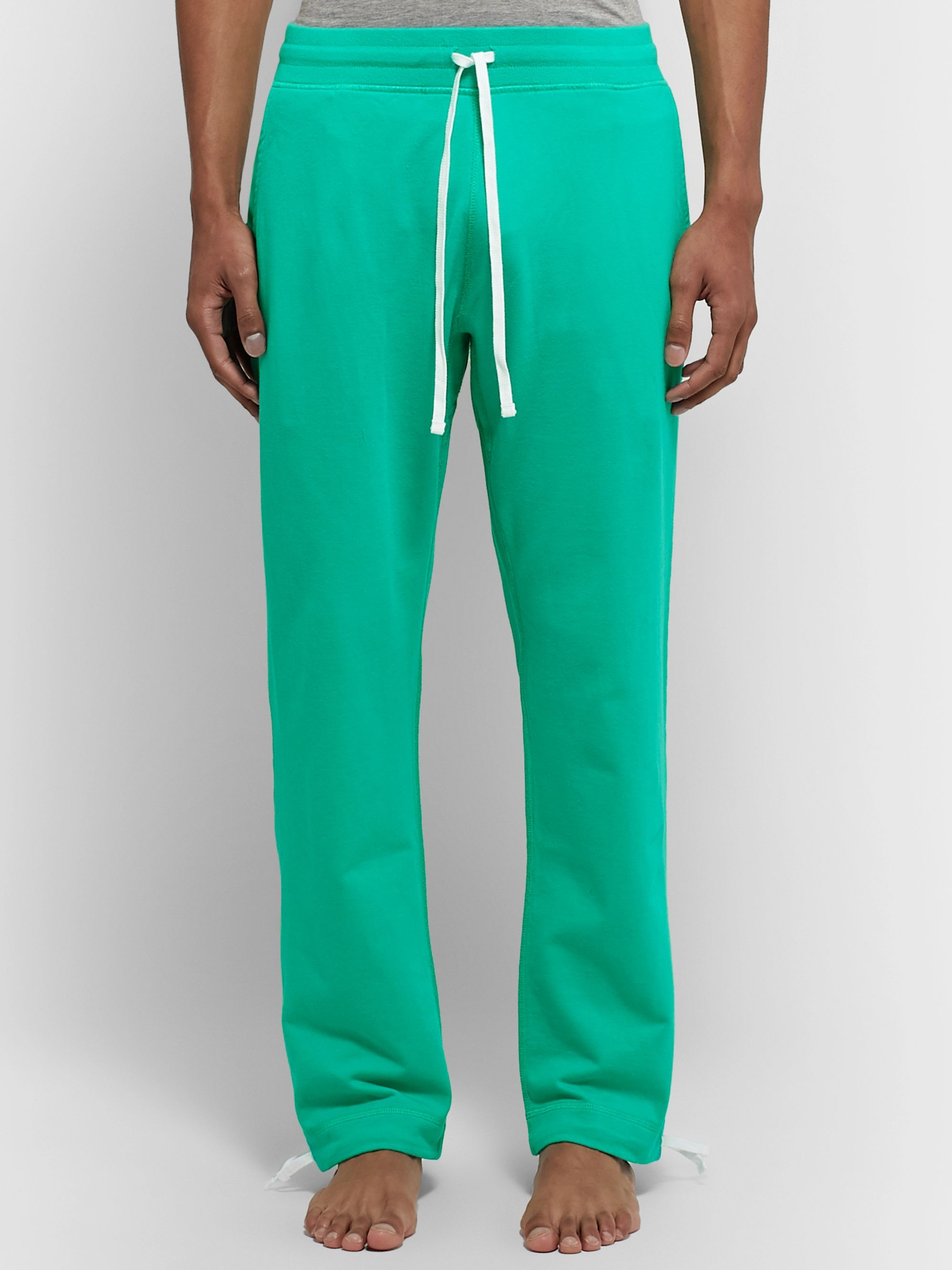 DISTRICT VISION + Reigning Champ Radical Retreat Loopback Cotton-Jersey Sweatpants