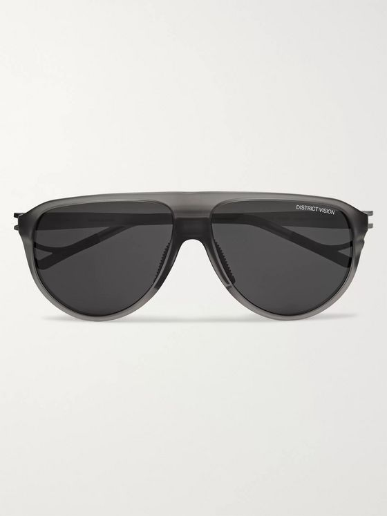 DISTRICT VISION Yukari Nylon and Titanium Sunglasses