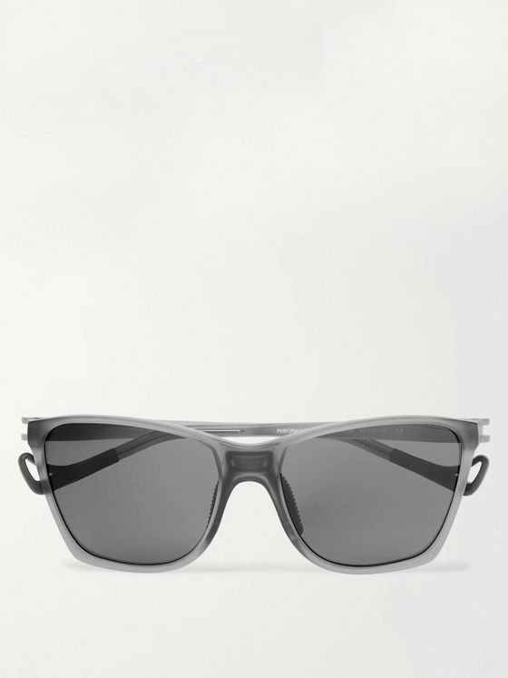 DISTRICT VISION Keiichi D-Frame Nylon and Titanium Polarised Sunglasses