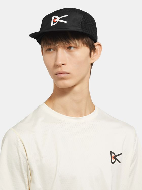 DISTRICT VISION Logo-Print Ripstop-Shell Cap