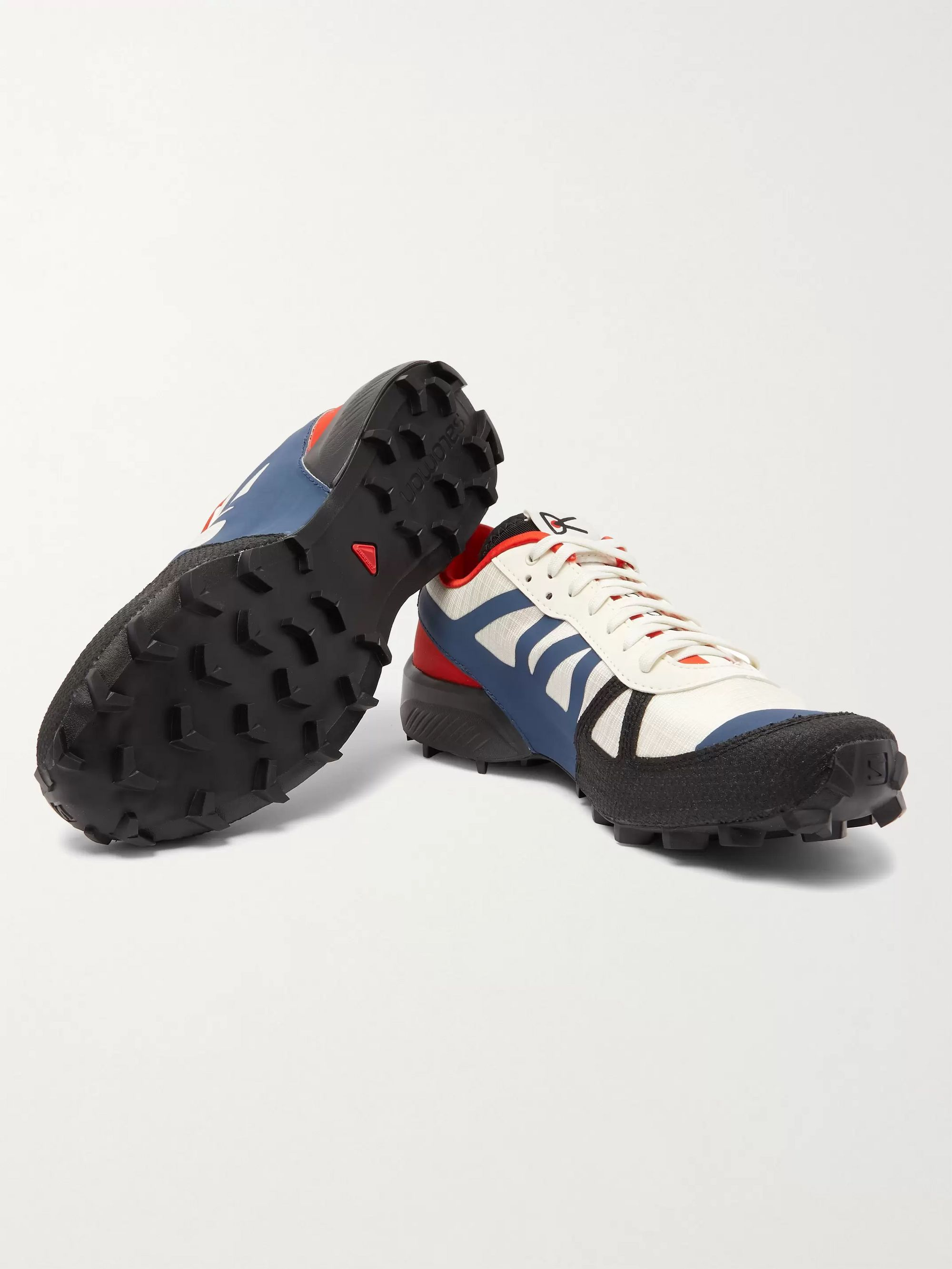 DISTRICT VISION + Salomon Rubber and Kevlar-Trimmed Mesh Sneakers
