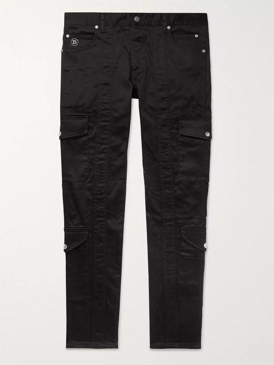Balmain Slim-Fit Stretch-Denim Jeans