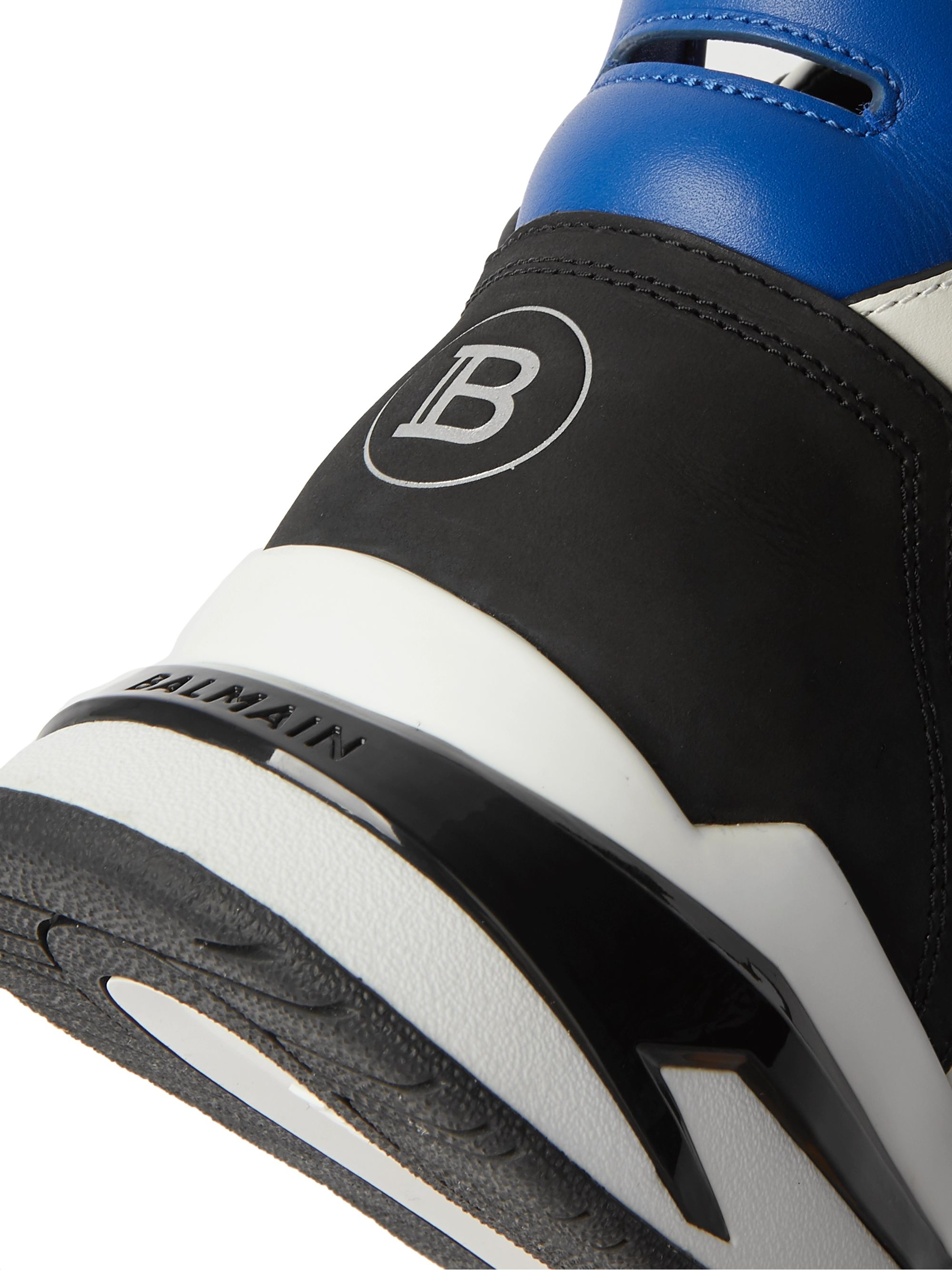 Balmain B-Ball Leather Sneakers