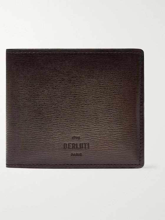 Berluti Textured-Leather Billfold Wallet