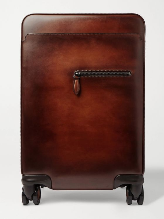 Berluti Formula 1004 Venezia Leather Carry-On Suitcase