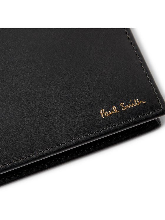 Paul Smith Leather Wallet and Cotton-Blend Socks Gift Set