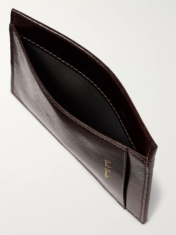 Paul Smith Polished-Leather Cardholder